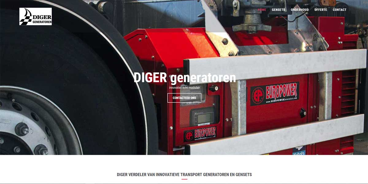 Websiteproject Diger