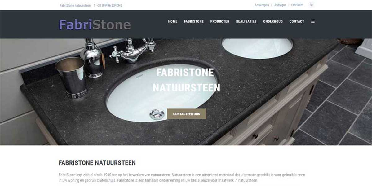 Websiteproject Fabristone