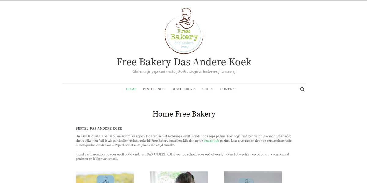 Websiteproject Freebakery