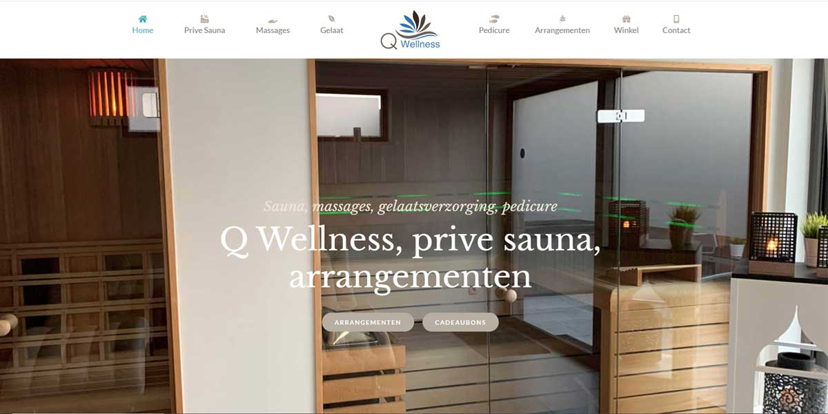 Websiteproject Qwellness