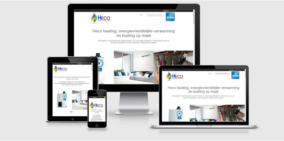 webdesign heco heating