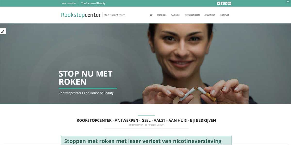 Websiteproject rookstopcenter